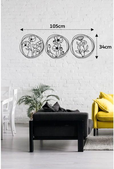 M&c Concept Rosie Metal Duvar Panosu Siyah
