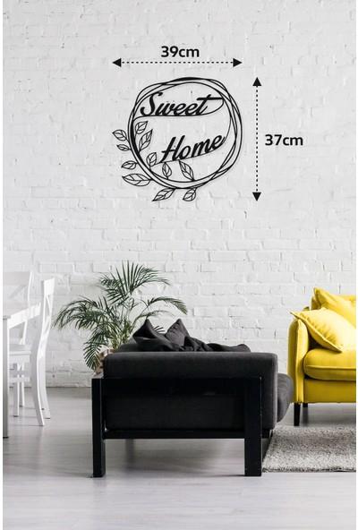 M&c Concept Sweet Home Metal Duvar Panosu Siyah