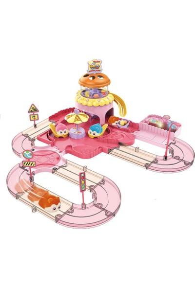 Fenfa Oyuncak Hamster Restaurant Oyun Seti