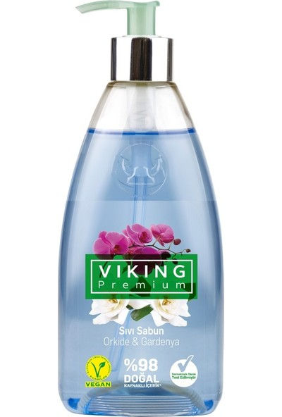Viking Premium Sıvı Sabun Orkide & Gardenya 500 ml