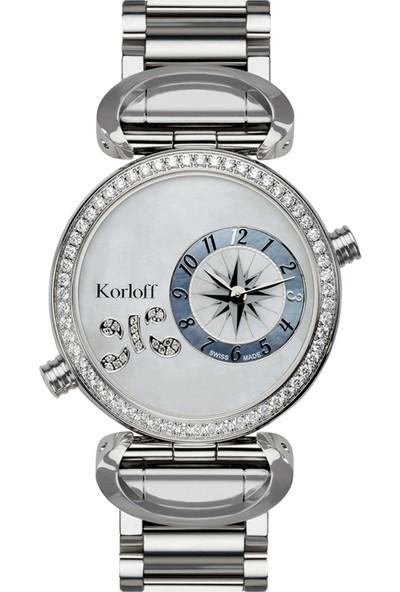 Korloff LM1D/2BR Kadın Kol Saati