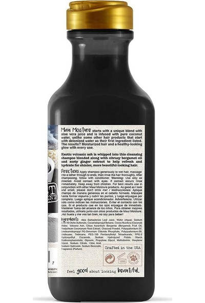 Maui Volcanic Ash Şampuan 385 ml