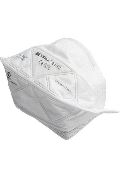 3m Vflex 9152E FFP2 Ventilsiz Toz ve Sis Solunum Koruyucu Maske 15 Adet