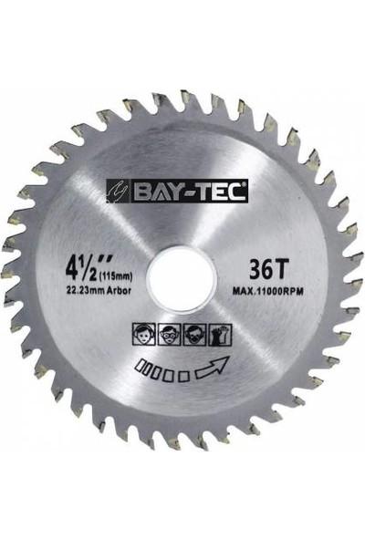 Bay-Tec Elmas Ahşap Kesme Testeresi Taşlama Makinası 115 x 22 mm