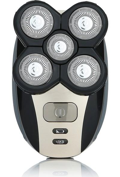 Insma 5 in 1 4D Saç Kesme Baş Tıraş Razor Giyotin (Yurt Dışından)