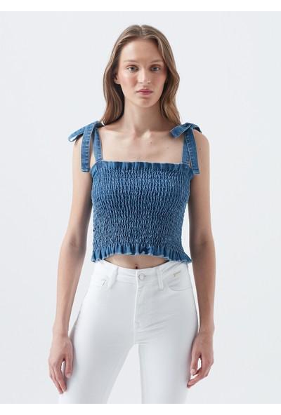 Mavi Denim Bluz