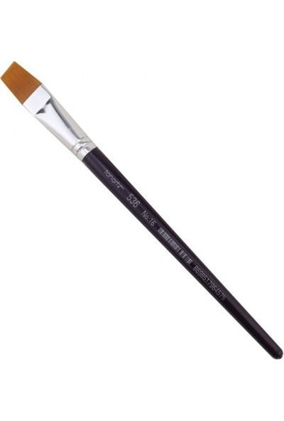 Fanart Academy Seri 536C Yassı Fırça Renkli No:16
