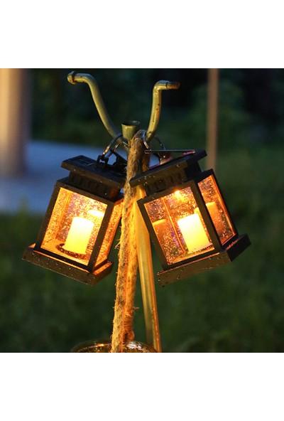 Yukka Güneş Enerjili Bahçe Işık 2'li (Yurt Dışından)