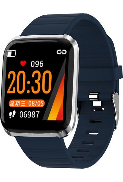 Yukka Renkli Ekran Akıllı Saat IP68 (Yurt Dışından)