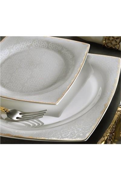 Aryıldız Bone Square Porselen 60 Parça Yemek Takımı 31018