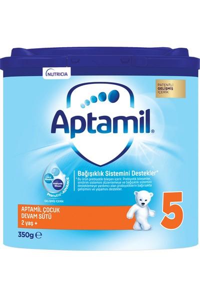Aptamil 5 Çocuk Devam Sütü 350 g 2 Yaş+ Akıllı Kutu