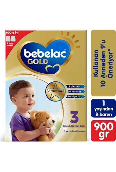Bebelac Gold 3 Çocuk Devam Sütü 900 gr 1 Yaşından İtibaren