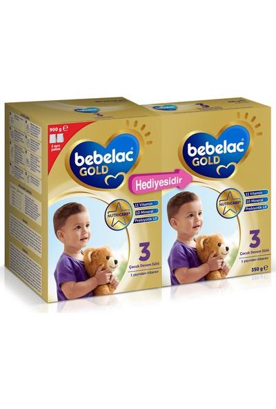 Bebelac Gold 3 Çocuk Devam Sütü 1250 gr (900 gr+350 gr) 1 Yaşından İtibaren