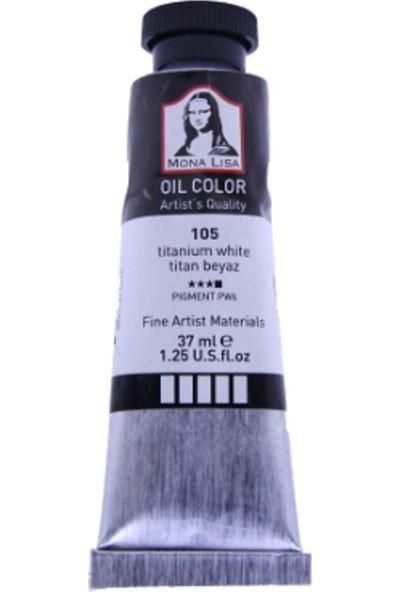 Mona Lisa Yağlı Boya 37 ml 3'lü