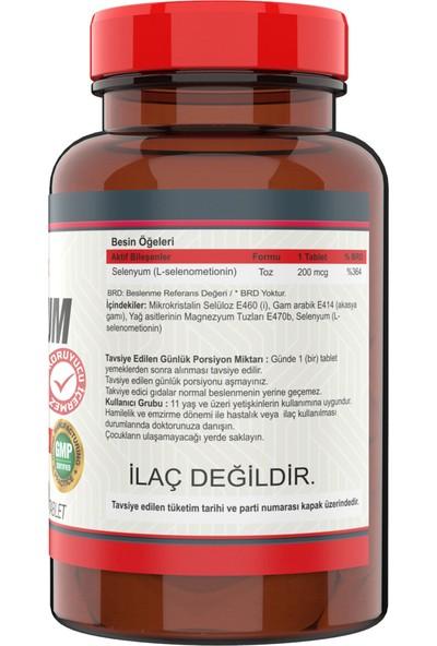 Nevfix B12 Folic Acid & Biotin 120 Tablet Selenyum 200 Mcg 120 Tablet