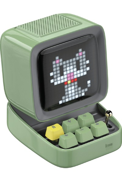 Divoom Ditoo Green Bluetooth Hoparlör