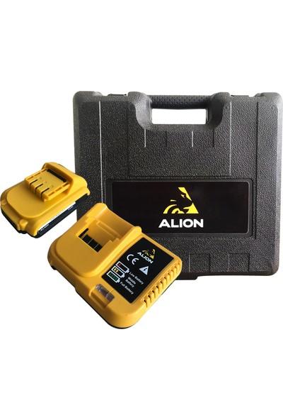 Alion MX24D Plus 24 V 5 Ah Darbeli Yedek Akülü Şarjlı Matkap