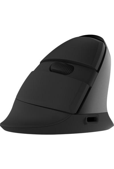Delux M618 Mini Kablosuz Fare Ergonomik Dikey Optik (Yurt Dışından)