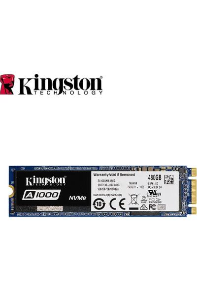Kingston Dijital A1000 Nvme M.2 480GB SSD Dizüstü (Yurt Dışından)