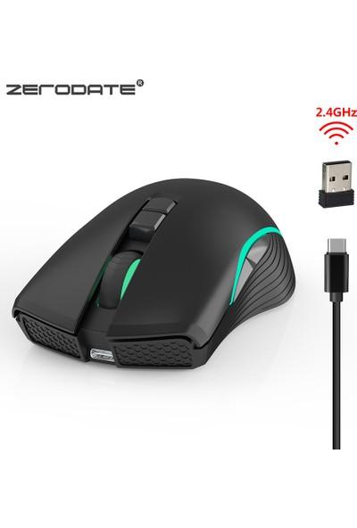 Zerodate T26 Fare Kablosuz 2.4 Ghz Tip C Şarj (Yurt Dışından)