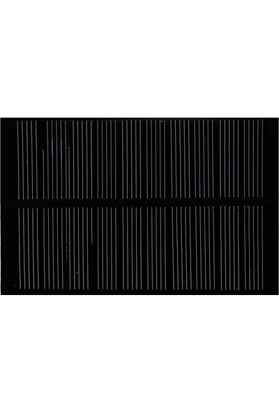 Emay Center Küçük Mini Güneş Paneli 7 x 10 cm 6V 15A + ve - Uç Kablo