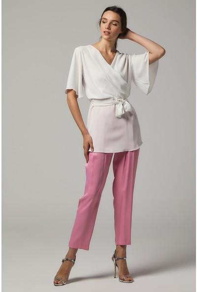 Soral Kadın Kruvaze Bluz
