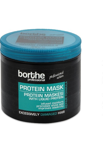 Borthe Protein Saç Bakım Seti Şampuan + Maske + Serum