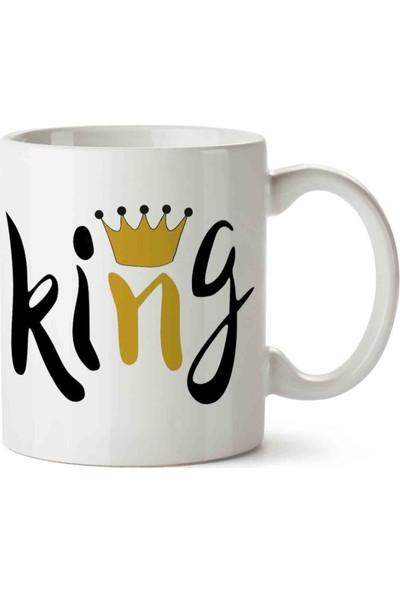 Art Hediye King Kral Kupa Bardak