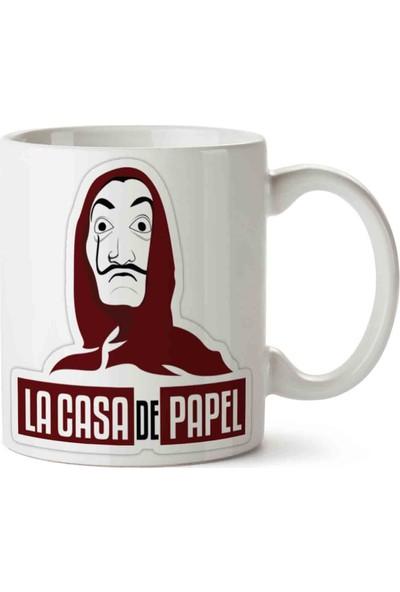 Art Hediye La Casa De Papel Baskılı Kupa Bardak