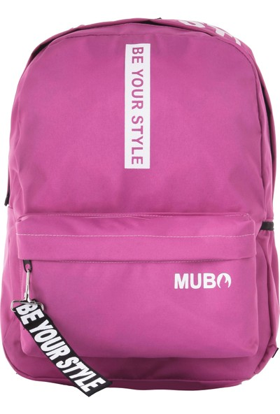 Mubo 1901 Sırt Çantası Be Your Style Pembe