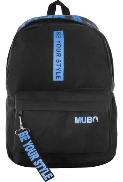 Mubo 1901 Sırt Çantası Be Your Style Siyah Mavi