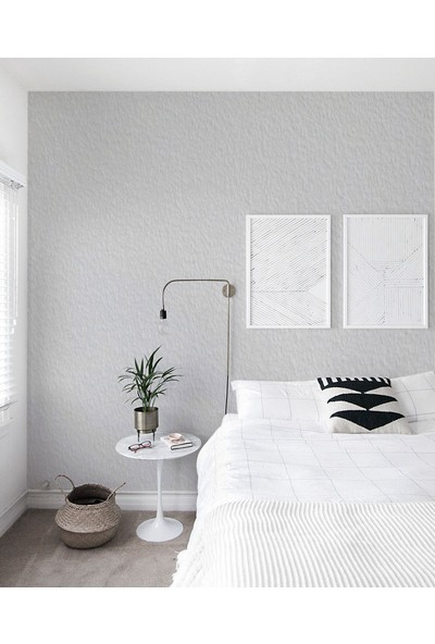 Vakar Canlı Sıva İpek Sıva Dekoratif Sıva Eco 18 Beyaz