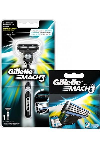 Gillette Mach-3 Tıraş Makinesi 3 Başlık