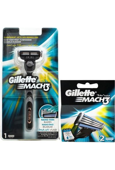 Gillette Tıraş Makinesi + 3 Yedek