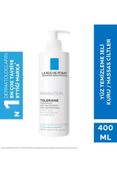 La Roche-Posay Toleriane Caring Krem Temizleyici Kuru/Hassas Ciltler 400Ml