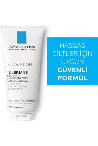 La Roche-Posay Toleriane Carıng Krem Temizleyici Kuru/Hassas Ciltler 200Ml
