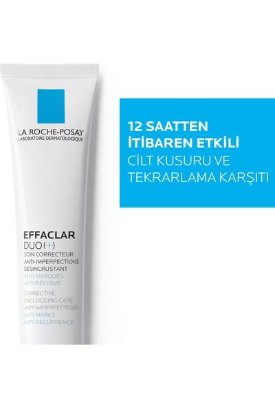 La Roche-Posay Effaclar Duo(+) Bakım Kremi Kusur Karşıtı Akneye Eğilim Gösteren Ciltler 40Ml