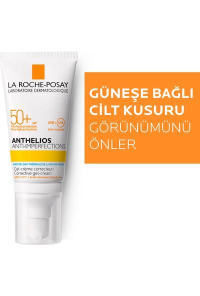 La Roche-Posay Anthelios Anti-Imperfections Güneş Kremi Akneye Eğilim Gösteren Ciltler Spf50+ Koruma 50Ml