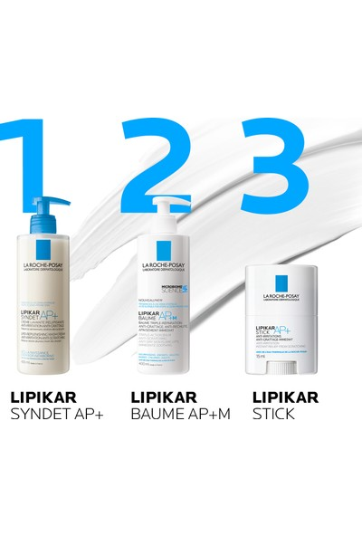 La Roche-Posay LipikarBaume Balsam Losyon AP+M Atopiye Eğilim Gösterebilen Ciltler 75Ml