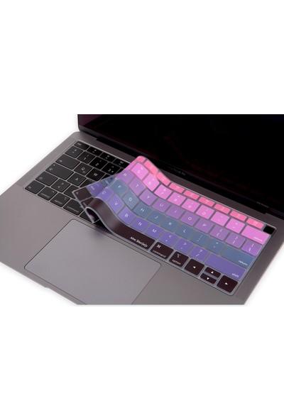"""Mcstorey Apple Yeni MacBook Air Klavye Koruyucu Mcstorey A1932 13"""" Us Amerikan Ingilizce Baskılı Type-C Thunderbold 3 Girişli"""