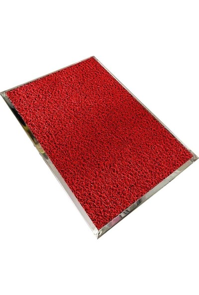 Bayz Paslanmaz Hijyen Paspası Dezenfektan Paspası 90x48 cm