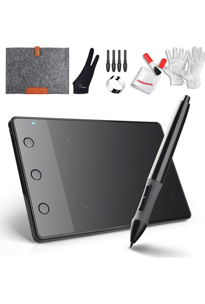 Huion H420 USB Grafik Çizim Tableti + Kit (Yurt Dışından)
