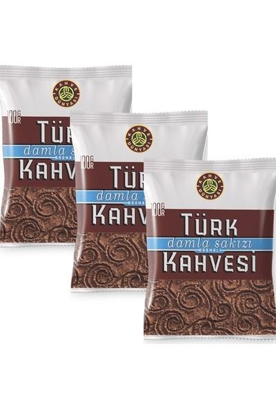 Kahve Dünyası Damla Sakızlı Kahve 3 Paket 100 gr