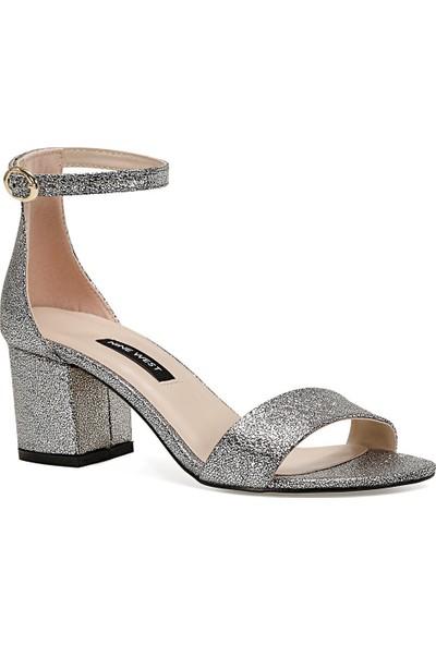 Nine West Badalıa2 Gümüş Kadın Sandalet