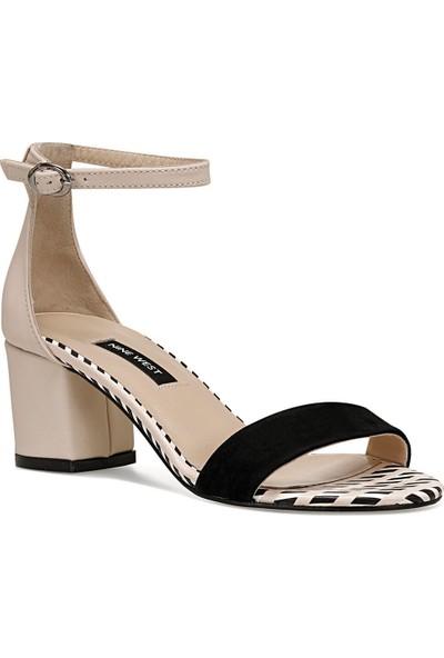 Nine West Badalıa8 Siyah Kadın Sandalet
