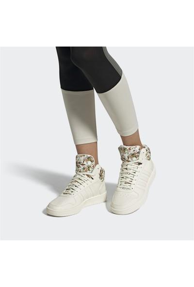 Adidas Hoops 2.0 Mid Kadın Spor Ayakkabı EF0120