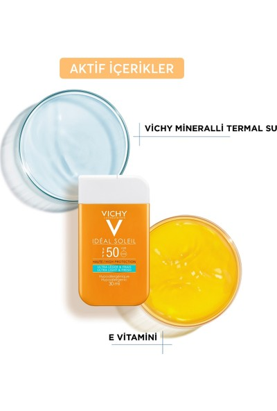 Vichy Ideal Soleil SPF 50 Ultra Light Fresh 30 ml