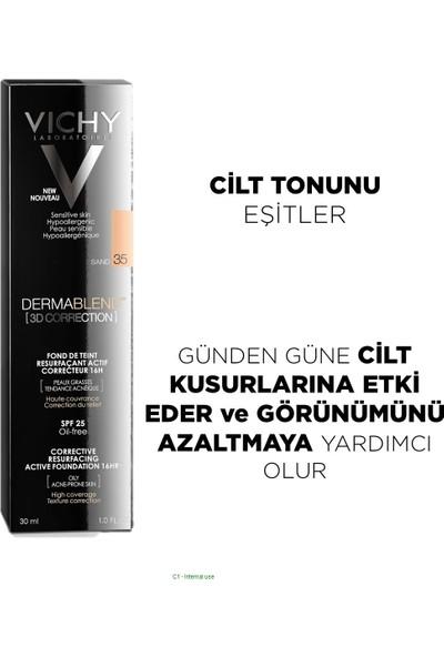 Vichy Dermablend Fondöten Karma,Yağlı ve Akneye Eğilimli Ciltler 30 Sand 30 ml