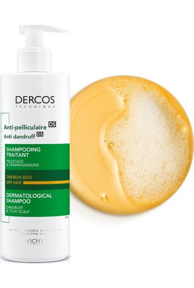 Vichy Dercos Kepeğe Karşı Etkili Saç Bakım Şampuanı Kuru Saçlar 390 ml