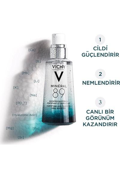 Vichy Mineral 89 Nemlendirici Hyalüronik Asit ve Termal Su Günlük Nem Bakımı 50 ml